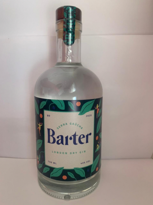 BARTER GIN ARTESANAL 750mL