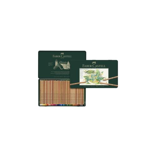 Estojo Metálico Pitt Pastel Seco A&G, 36 Cores - Faber-Castell