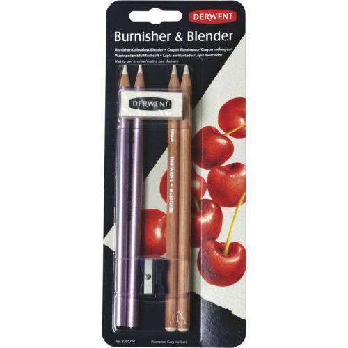 Kit Blender e Burnisher - Derwent
