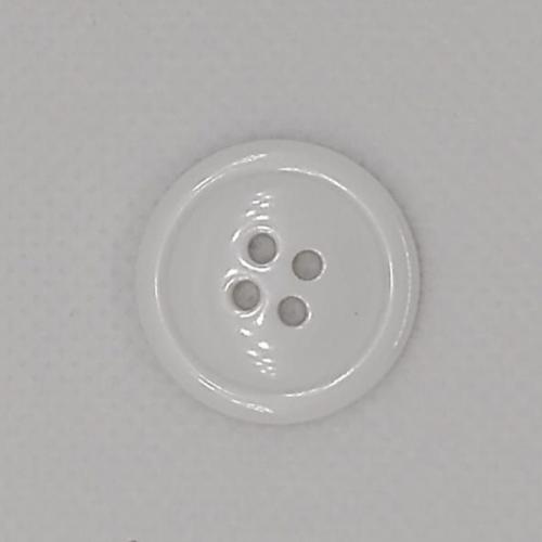 Botão liso médio (12 unidades)