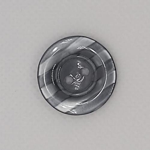 Botão mescla listras cores (12 unidades)