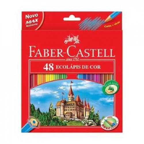 EcoLápis de Cor 48 cores Faber-Castell