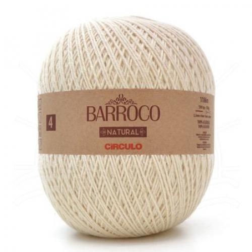 Fio Barroco Natural 4