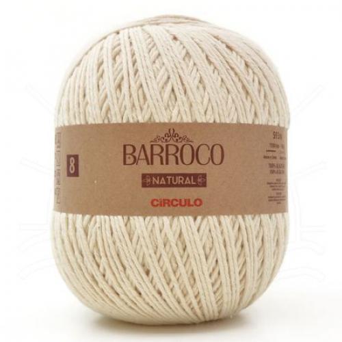 Fio Barroco Natural 8