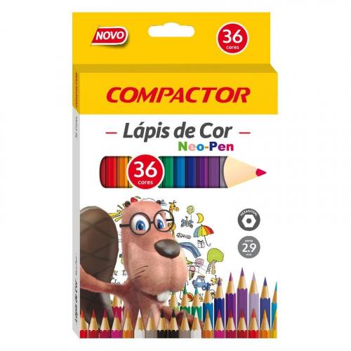 Lápis de cor Neo-Pen 36 cores
